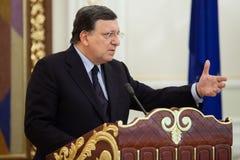 Presidente Jose Manuel Barroso da Comissão Europeia fotografia de stock