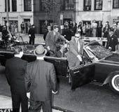 Presidente Juan F Kennedy In NYC fotografía de archivo