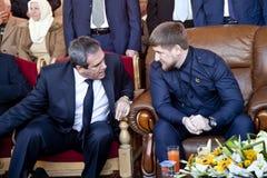 Presidente Kadyrov Fotografia Stock
