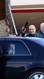 Presidente Karzai fotografía de archivo libre de regalías