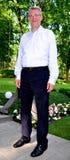 Presidente lettone Valdis Zatlers al suo addio m. Fotografia Stock Libera da Diritti