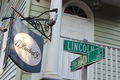Presidente Lincoln Fotografía de archivo