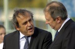 Presidente Michel Platini dell'UEFA Immagine Stock Libera da Diritti