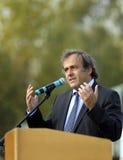Presidente Miguel Platini de la UEFA Imágenes de archivo libres de regalías
