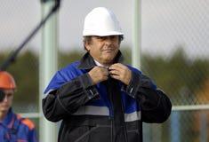Presidente Miguel Platini de la UEFA Foto de archivo