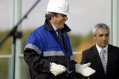 Presidente Miguel Platini de la UEFA Imagen de archivo libre de regalías