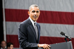 Presidente Obama Imagem de Stock Royalty Free