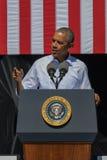 Presidente Obama habla en la vigésima cumbre anual 19 del lago Tahoe Imagen de archivo libre de regalías