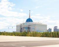 Presidente Palace de Astaná foto de archivo