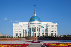 Presidente Palace di Astana fotografia stock