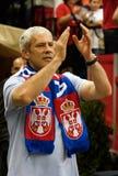 Presidente sérvio Boris Tadic Foto de Stock Royalty Free