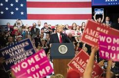 Presidente Trump Imagen de archivo