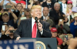 Presidente Trump fotos de archivo libres de regalías