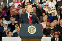 Presidente Trump Fotos de archivo