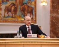 Presidente Vladimir Putin do russo Foto de Stock