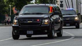 Presidentens säkerhetstjänstmedel Fotografering för Bildbyråer