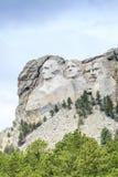 Presidenter av Mount Rushmore den nationella monumentet Fotografering för Bildbyråer