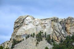 Presidenter av Mount Rushmore den nationella monumentet Royaltyfri Foto