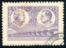 Presidenter Justo och Vargas royaltyfri fotografi