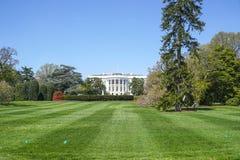 Presidenter parkerar på Vita Huset i Washington DC - WASHINGTON, DISTRICT OF COLUMBIA - APRIL 8, 2017 Royaltyfri Foto