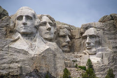 Presidenterna av Mount Rushmore, South Dakota. Arkivbilder