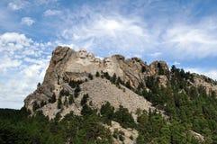 Presidenterna på Mt Rushmore i South Dakota arkivbilder