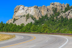 Presidentes do Monte Rushmore Foto de Stock