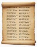 Presidentes los E Imagen de archivo libre de regalías
