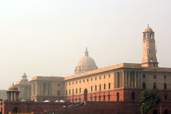 Presidenthus Indien Arkivfoton