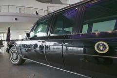 Presidentiële autocolonne Stock Foto