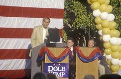 Presidentiële kandidaat Bob Dole Royalty-vrije Stock Afbeelding
