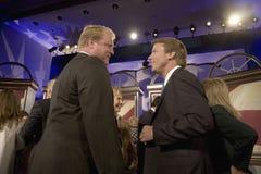 Presidentiële Kandidaat John Edwards Stock Foto's