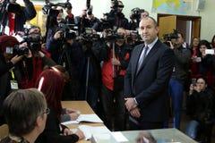 Presidentiële kandidaatpens Radev Stock Afbeelding
