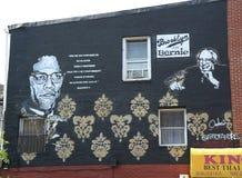 Presidentiële ras politieke reclame in Brooklyn Royalty-vrije Stock Afbeeldingen