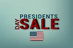 Presidenti Day in U.S.A. Compleanno del ` s di Washington Illustrazione di vettore Presidente Day del manifesto EPS10 royalty illustrazione gratis