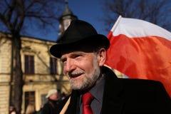 Presidential campaign by Bronisław Komorowski Stock Images
