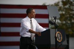 Presidential Candidate Barack Obama Stock Photo