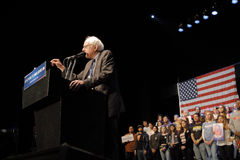 Presidential Candidate Bernie Sanders Holds Los Angeles Campaign Rally Stock Photography