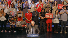 Presidential Candidate Bernie Sanders Holds Los Angeles Campaign Rally Stock Photo