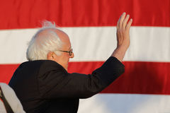 Presidential Candidate Bernie Sanders rallies supporters in Sant Stock Image