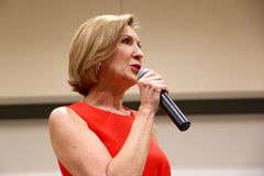 Presidential Candidate Carly Fiorina Royalty Free Stock Image