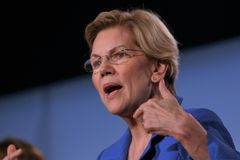 Free Presidential Candidate Elizabeth Warren Royalty Free Stock Images - 154920099