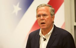 Free Presidential Candidate Jeb Bush Stock Photography - 56657982