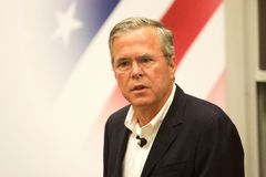Presidential Candidate Jeb Bush Royalty Free Stock Photography