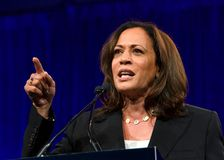 Presidential Candidate Kamala Harris at the DNC Summer meeting