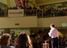 Presidential Candidate Senator Marco Rubio Stock Photography