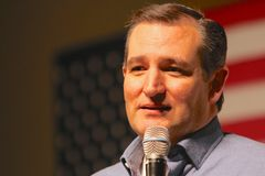 Presidential Candidate Senator Ted Cruz Royalty Free Stock Photo