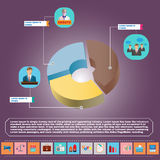 Presidential Debates Infographic Stock Images