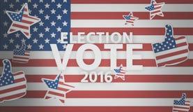 Presidential election 2016 america 3d render. Presidential election 2016 america 3d Stock Photos