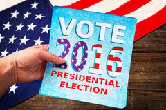 Presidential Election Composition Royalty Free Stock Images